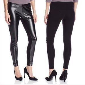 Jessica Simpson Black Vegan Leather Leggings Sz M